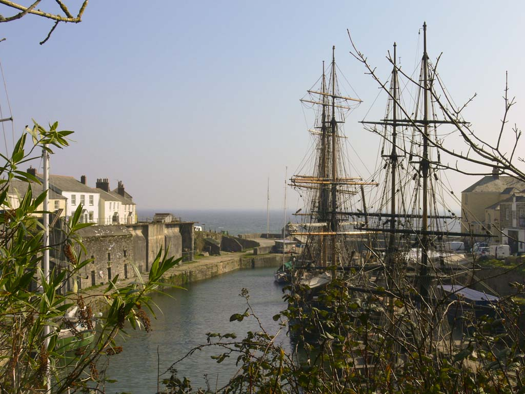 Charlestown tall ships