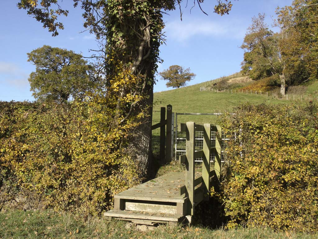 Offa's Dyke Path, Pound House