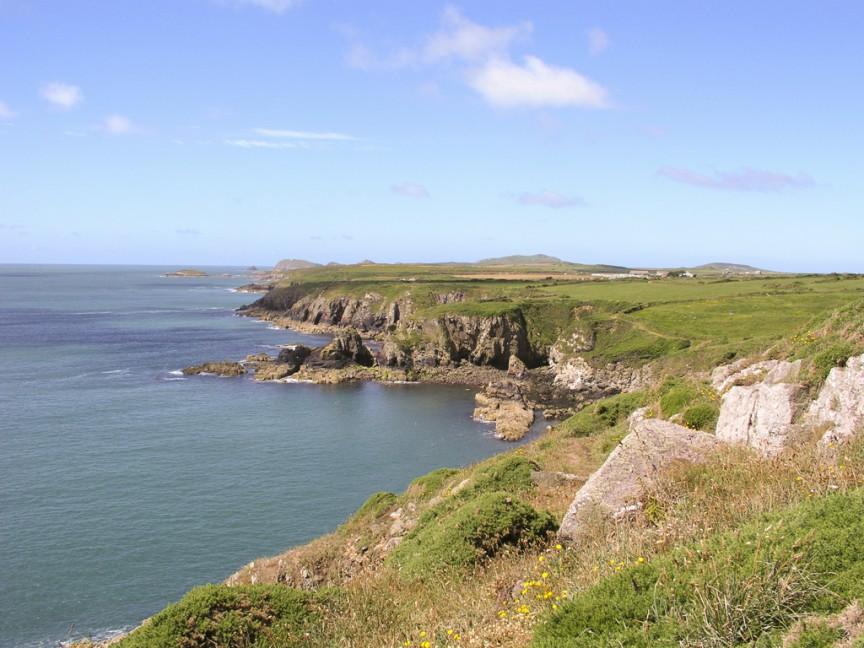 St Non's Bay, Pembrokeshire