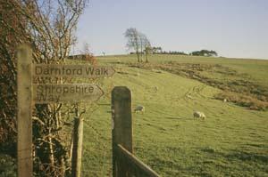 Darnford Walk footpath