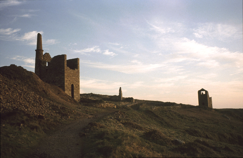 Old tin mine, Cornwall