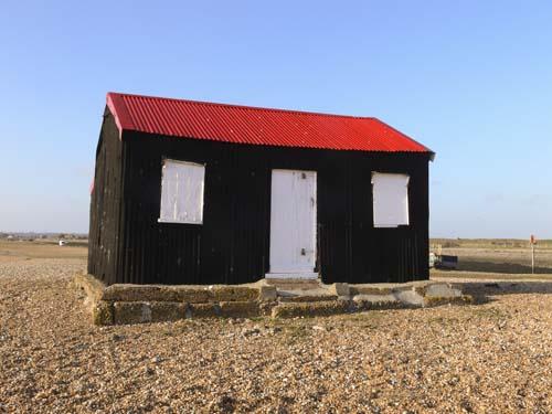 Beach hut, Rye