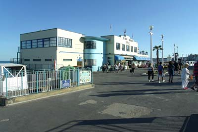 Weymouth beachfront art deco
