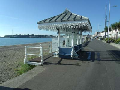 Weymouth Victorian seafront shelter