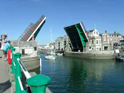 Weymouth harbour bridge