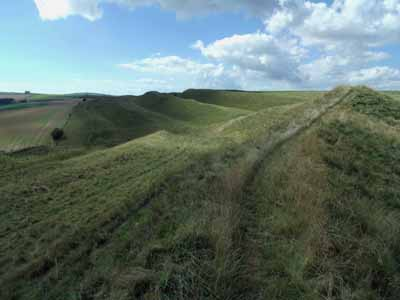 Maiden Castle bank